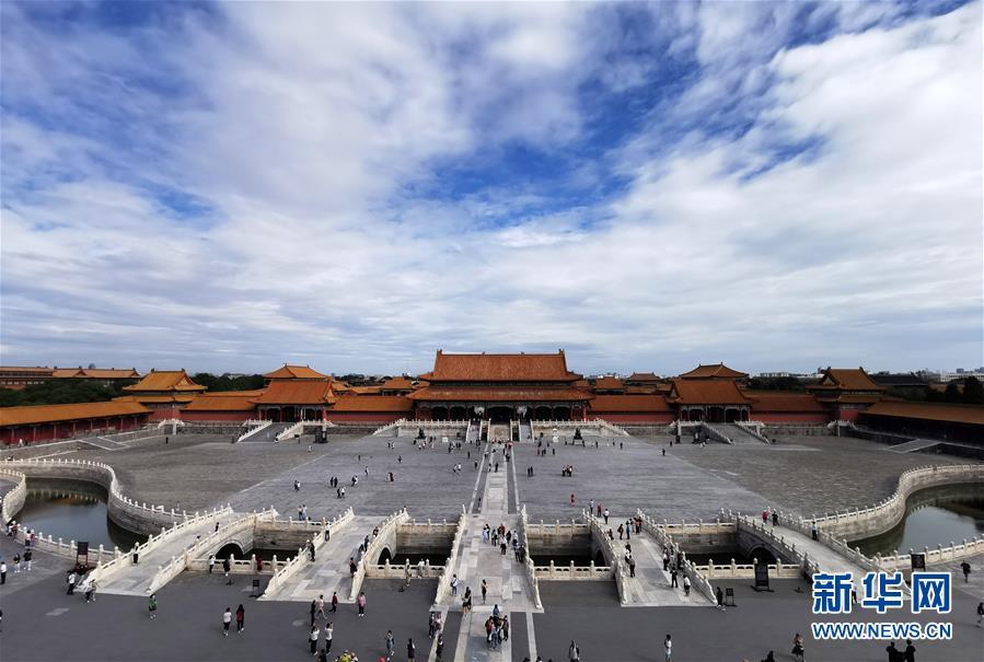 (文化)(1)故宫举办紫禁城建成六百年展览