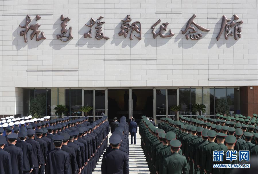 (社会)(7)抗美援朝纪念馆重新开放