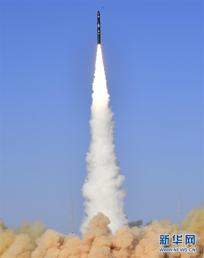 (科技)(2)谷神星一号商业运载火箭首飞成功 搭载发射天启星座十一星