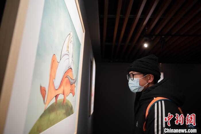 """""""世界的老子""""国际漫画展在贵阳孔学堂开展"""