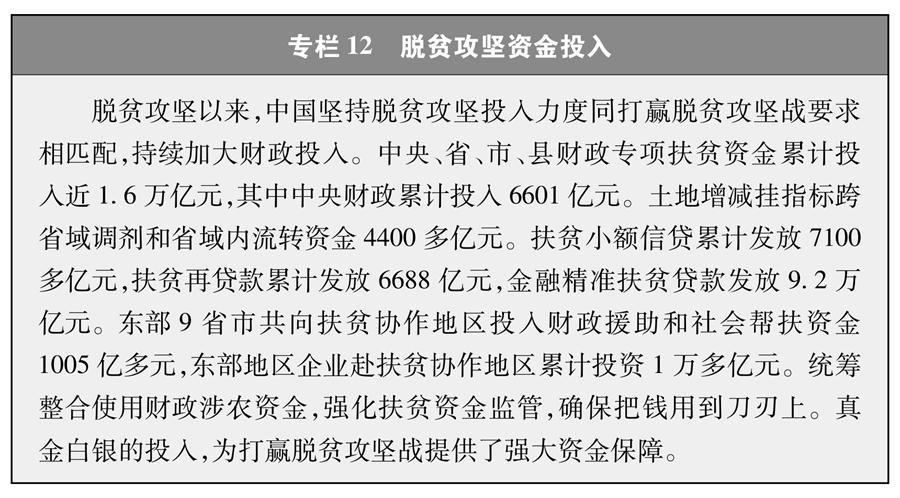 双语:《人类减贫的中国实践》白皮书 PDF下载