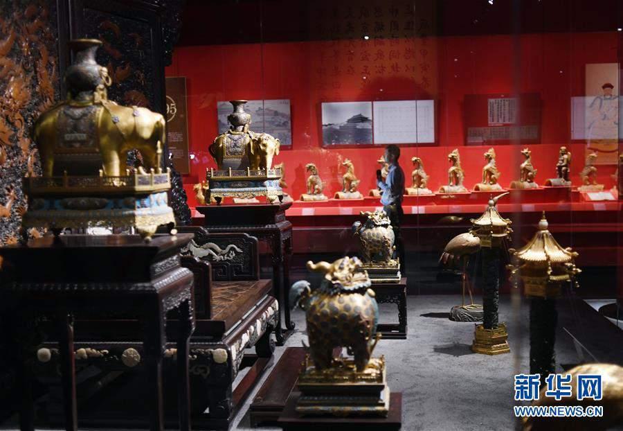(文化)(5)故宫举办紫禁城建成六百年展览