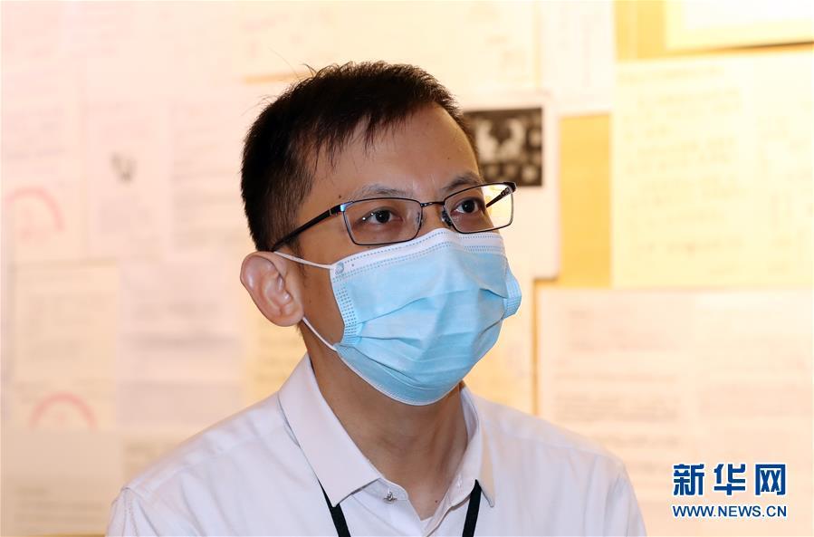 """(港澳台·图文互动)(5)""""为了香港同胞能早日摘下口罩自由呼吸""""——内地核酸检测支援队员工作素描"""