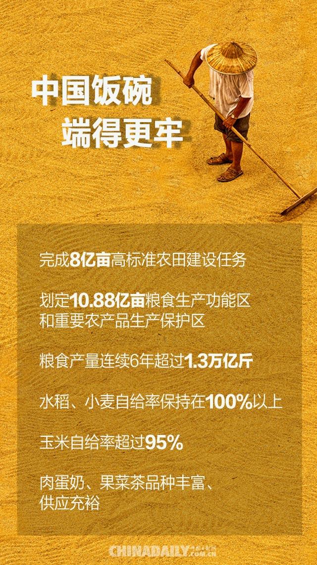 """【海报】回眸""""十三五""""——农业农村大发展"""