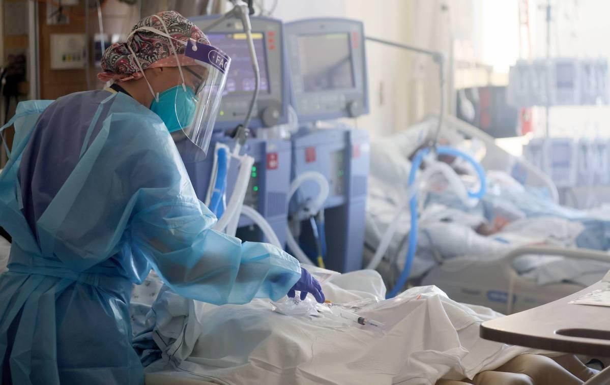 研究:变异新冠病毒在美国迅速传播